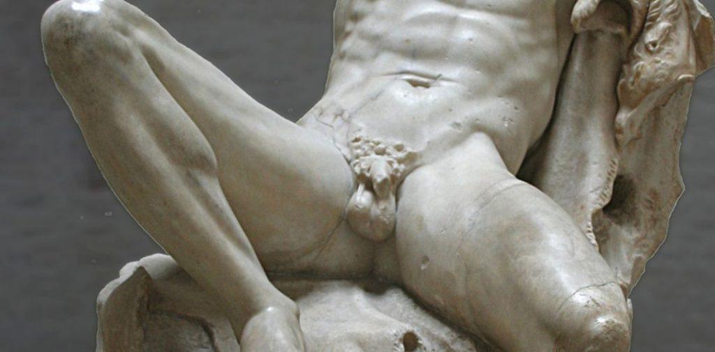 statue-organes-génitaux-masculins-sante-intime