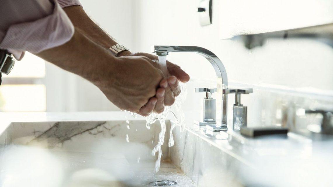 1 français sur 3 ne se lave pas les mains après être allé aux toilettes